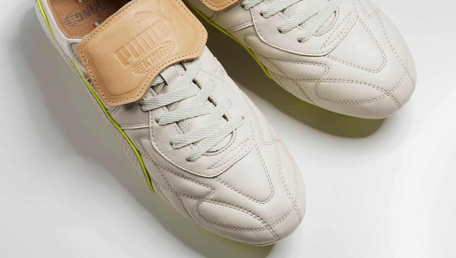 chaussures-football-puma-king-made-in-italy-blanc-jaune-img1