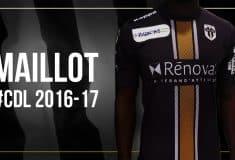 Image de l'article Un nouveau maillot dévoilé par Angers pour la Coupe de la Ligue