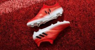 Image de l'article adidas Messi16 en mode «Red Limit»
