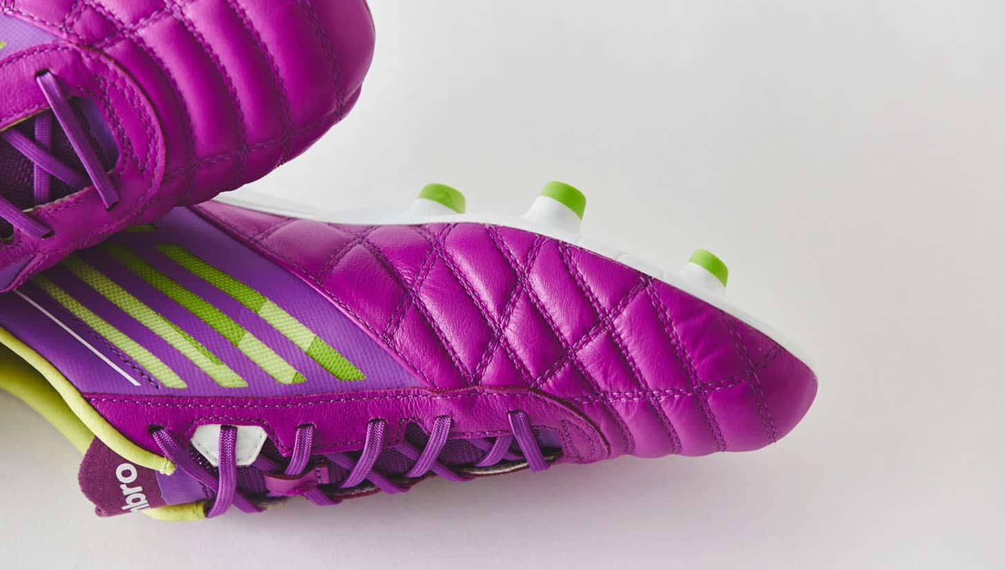 chaussures-football-umbro-medusae-violet-vert-citron-img1