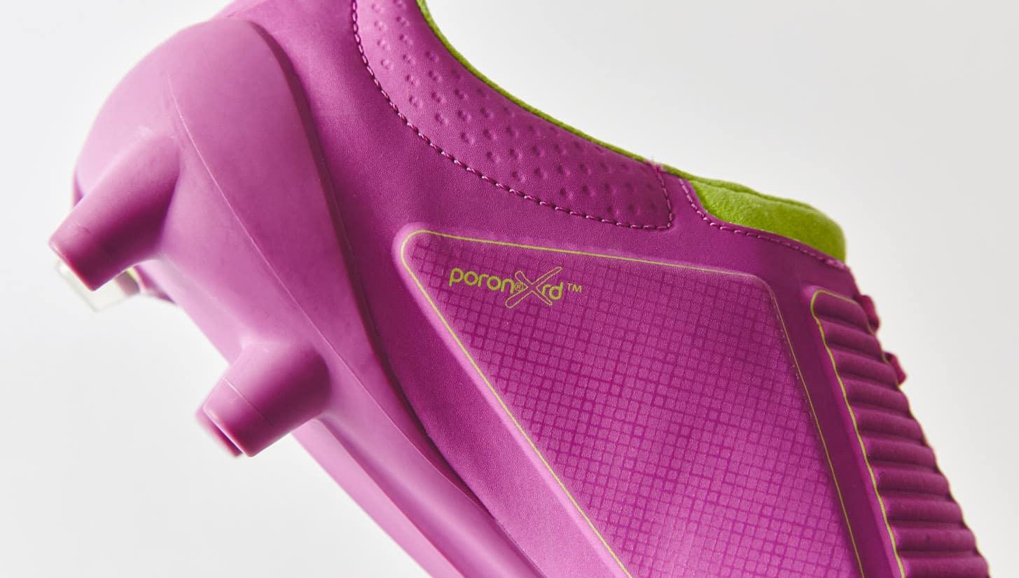 chaussures-football-umbro-ux-accuro-violet-vert-citron-img3