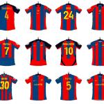 Tous les maillots du FC Barcelone sous l'ère Nike