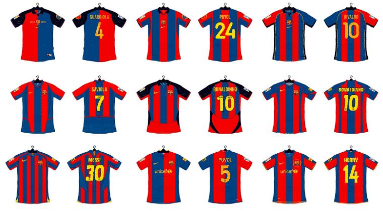 histoire-maillot-domicile-fc-barcelone-1