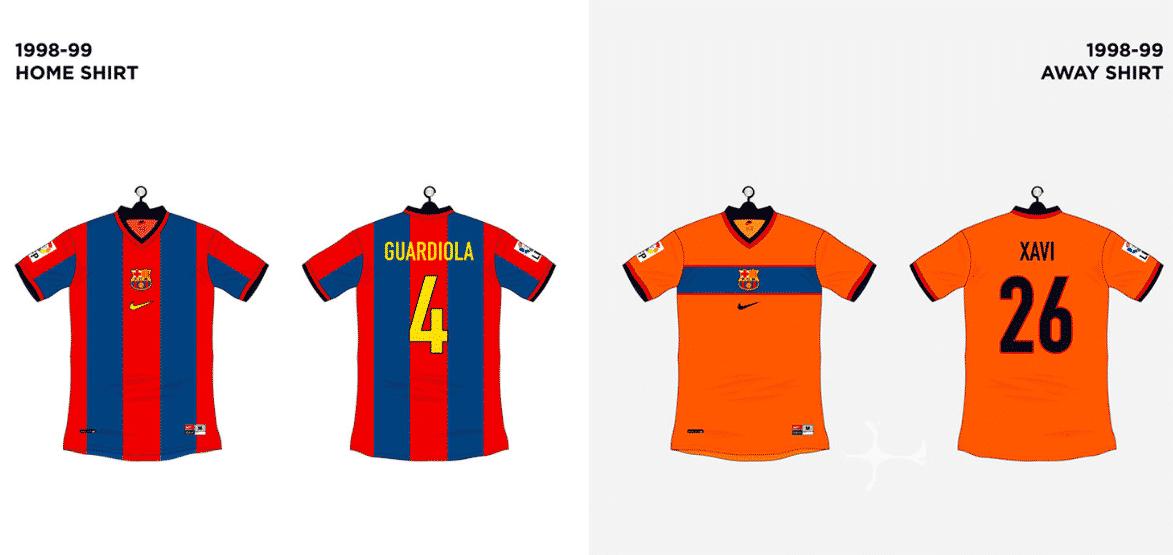 histoire-maillot-fc-barcelone-1998-199