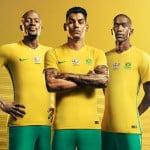 Nike dévoile les maillots de l'Afrique du Sud