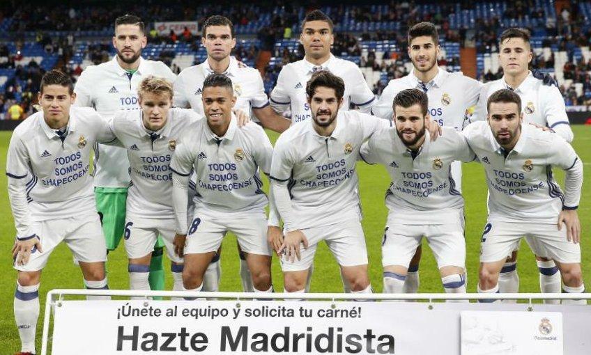 Le maillot du Real Madrid en Copa del Rey