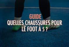 Image de l'article Quelles chaussures pour le foot à 5