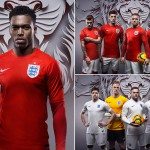 Tous les maillots Nike de l'Angleterre