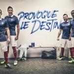 Tous les maillots Nike de l'équipe de France depuis 2011