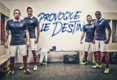 Image de l'article Les maillots Nike de l'équipe de France depuis 2011