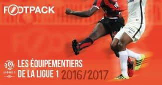 Image de l'article Infographie : les équipementiers de la Ligue 1 (Saison 2016/2017)