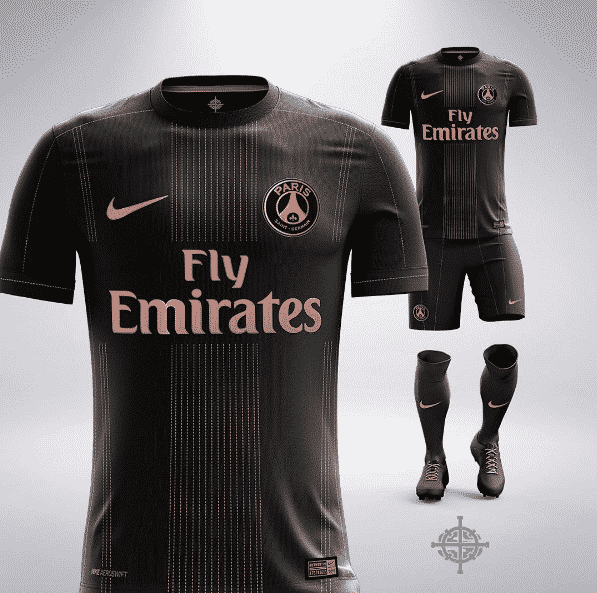 Les maillots de football version luxe
