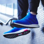 L'ACE16+ PureControl UltraBoost d'adidas en mode Blue Blast