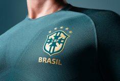 Image de l'article Nike dévoile le nouveau maillot third du Brésil