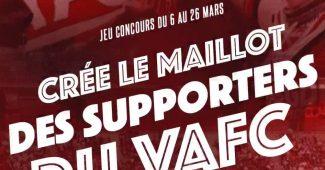 Image de l'article Supporters du VAFC : à vous de créer le troisième maillot de la saison 2017-2018 avec Kipsta