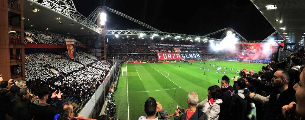 Genoa Sampdoria Derby Lanterne 2017