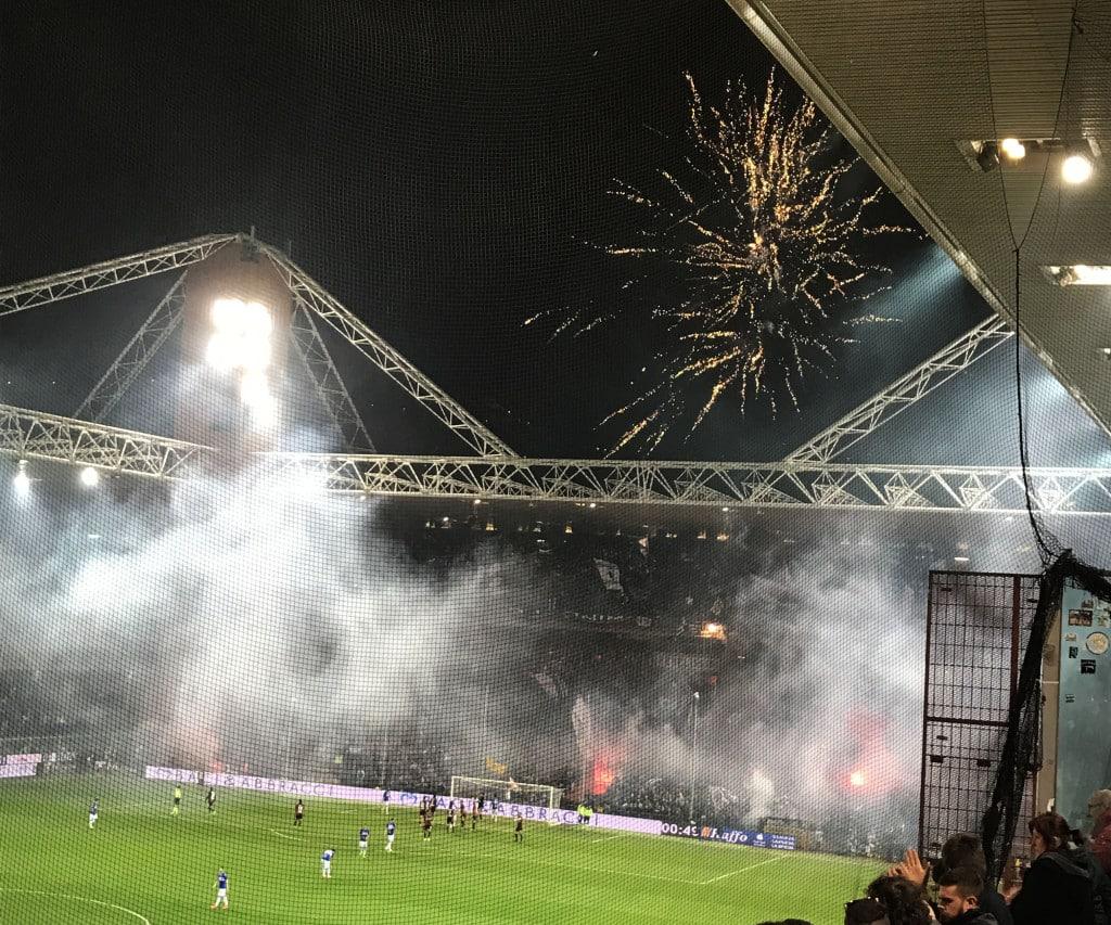 Genoa Sampdoria Derby Lanterne 2017 13