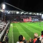 Au stade – Luigi Ferraris pour le Derby de la Lanterne