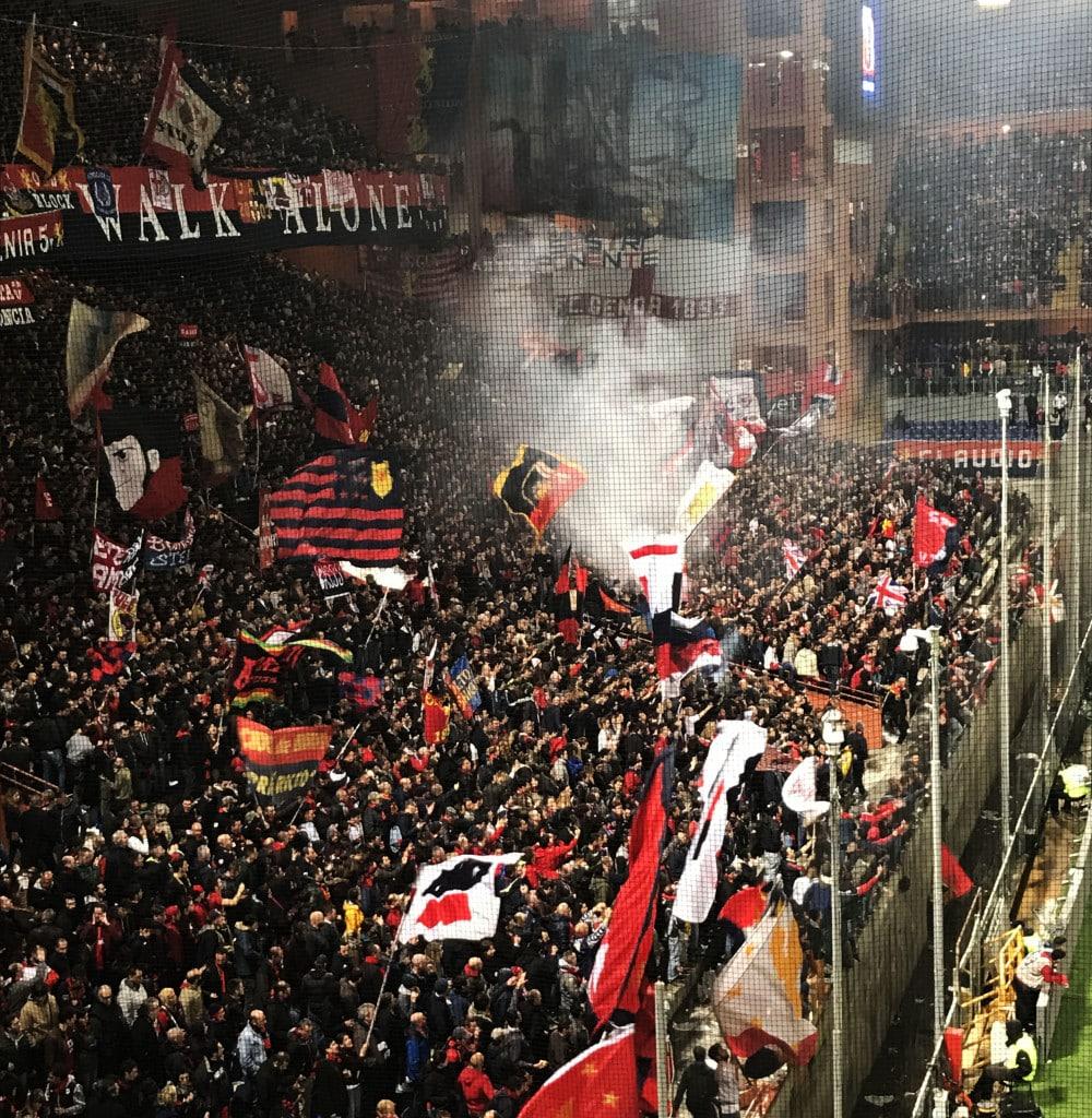 Genoa Sampdoria Derby Lanterne 2017 8