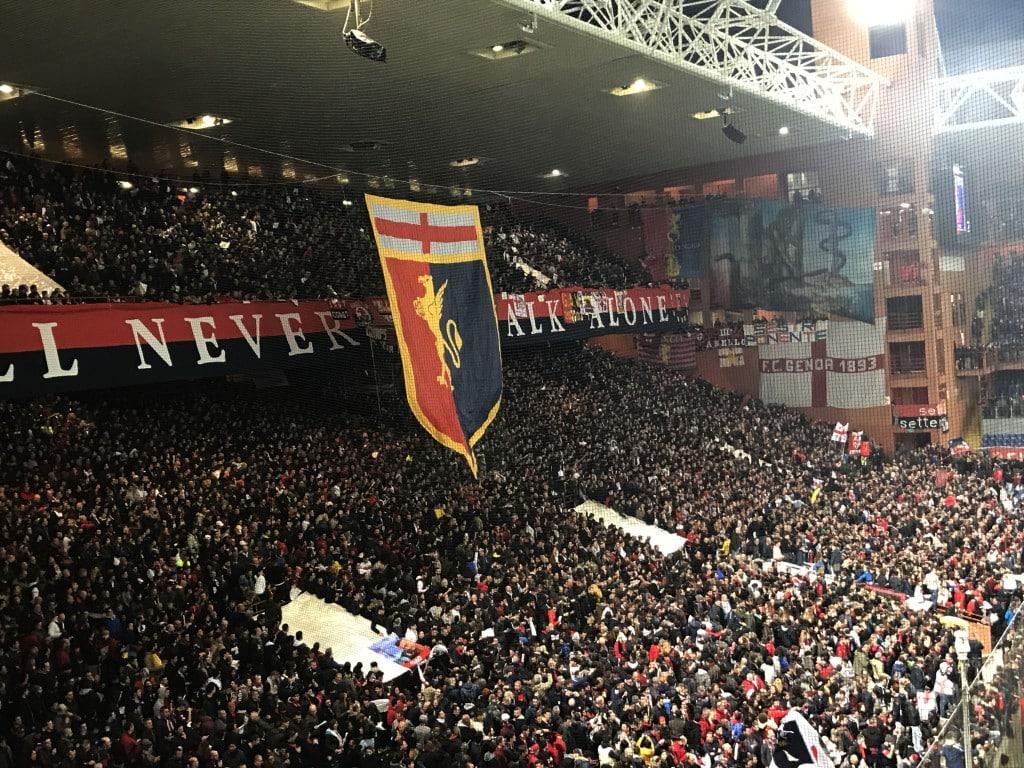 Genoa Sampdoria Derby Lanterne 2017 9