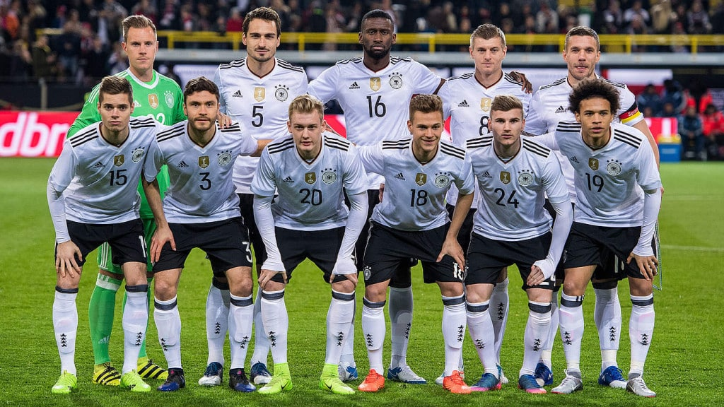 compo allemagne angletterre 2017
