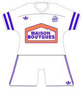 maillot-fooball-adidas-OM-1986-1988