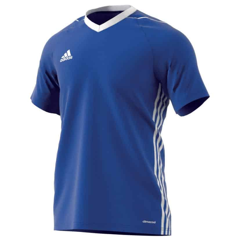 maillot-football-adidas-tiro-17-teamwear-bleu-clair