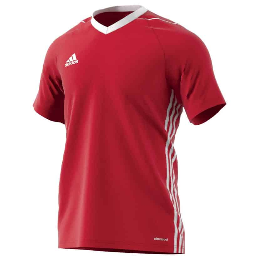 maillot-football-adidas-tiro-17-teamwear-rouge