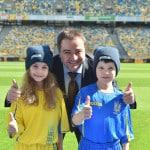 Joma dévoile les maillots de l'Ukraine