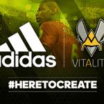 adidas dévoile son premier maillot eSport pour la Team Vitality