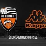 Kappa devient le nouvel équipementier du FC Lorient