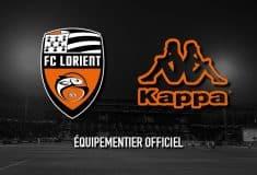 Image de l'article Kappa devient le nouvel équipementier du FC Lorient