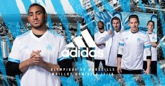 Image de l'article Les maillots de l'Olympique de Marseille pour la saison 2017-2018