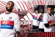 Image de l'article Les maillots de l'Olympique Lyonnais pour la saison 2017-2018