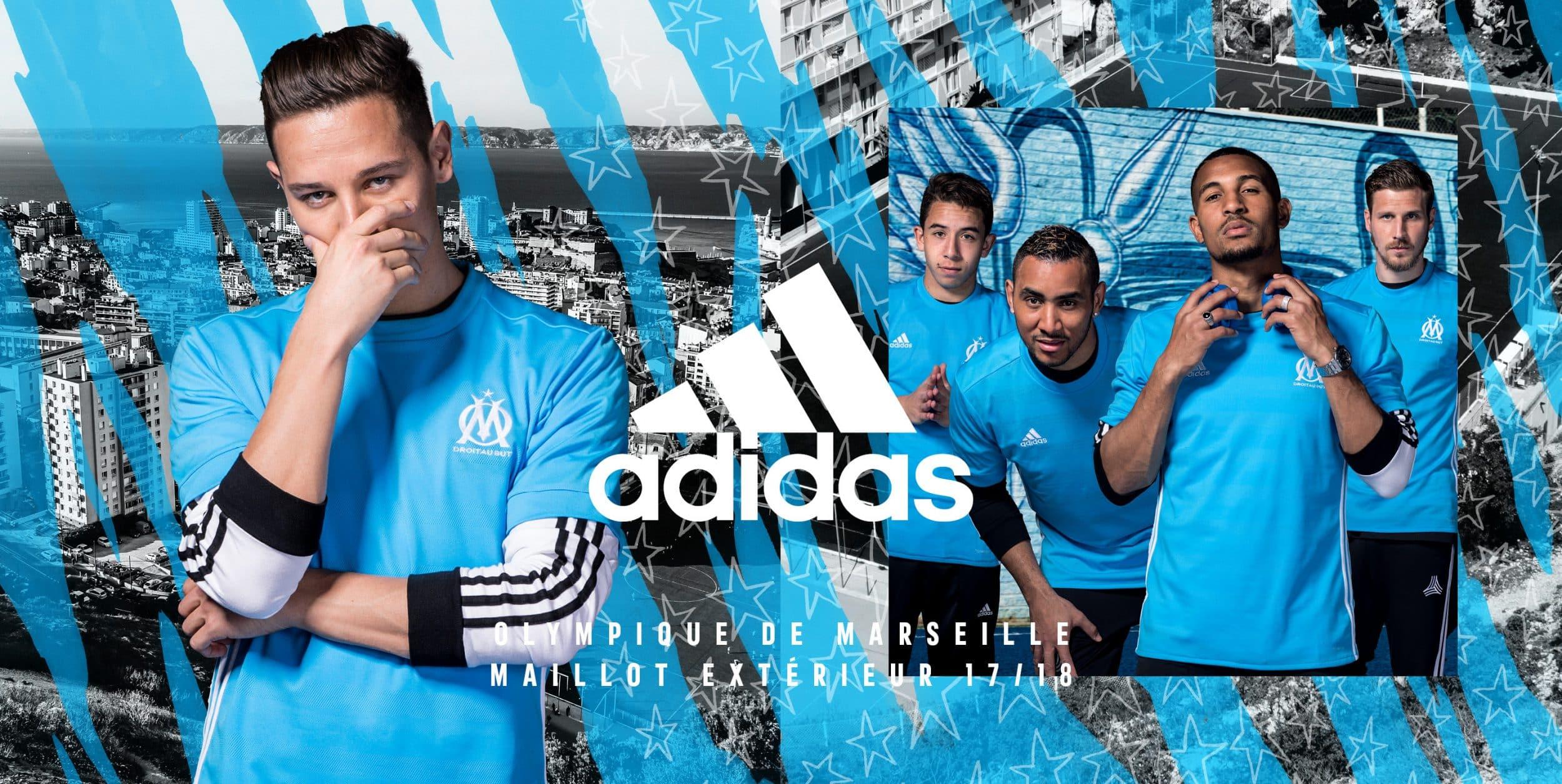 Maillot Extérieur Olympique de Marseille Tenue de match