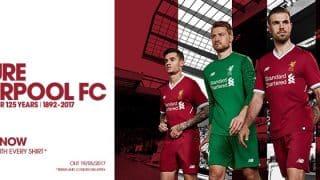 Image de l'article Liverpool lutte contre les fakes avec un maillot low cost à 27€!