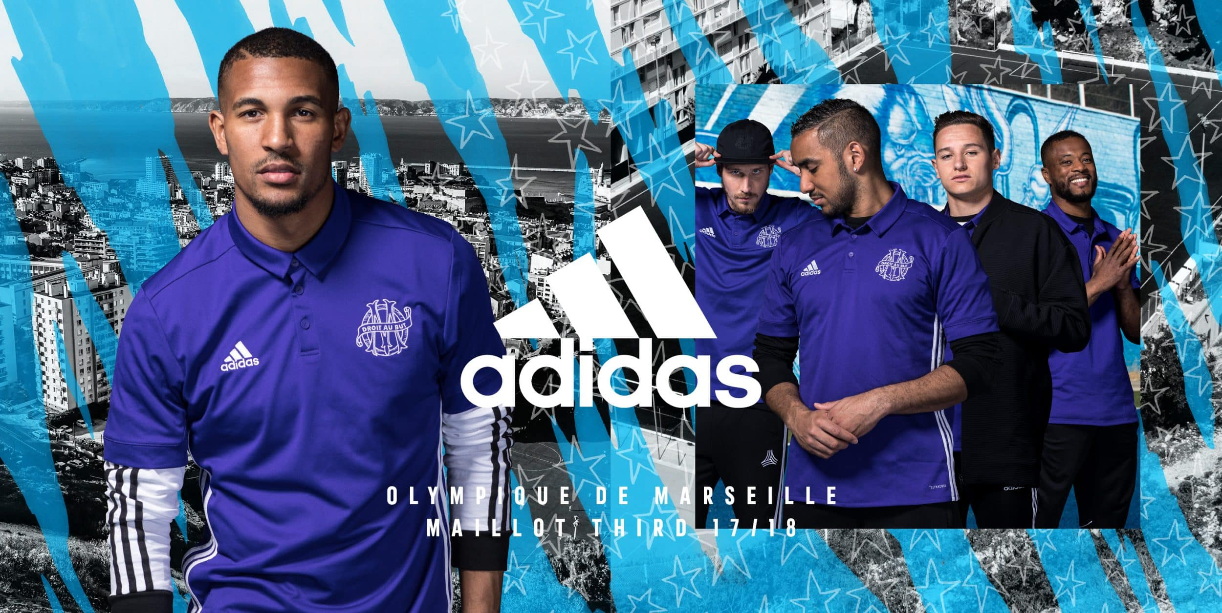 Maillot THIRD Olympique de Marseille Tenue de match