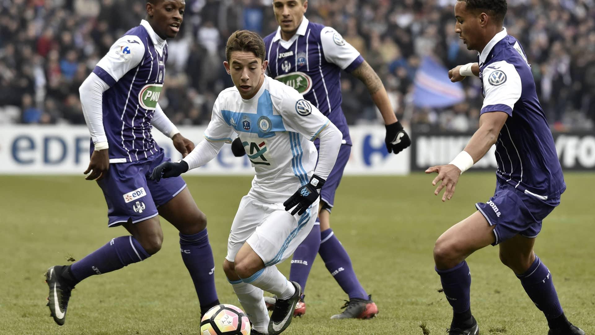 Maillot Domicile Olympique de Marseille Maxime LOPEZ