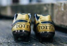 Image de l'article Les chaussures de foot de … Francesco Totti