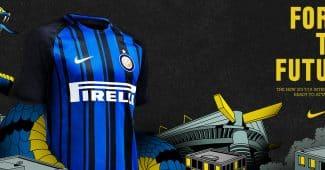 Image de l'article Nike dévoile les nouveaux maillots 2017/2018 de l'Inter Milan