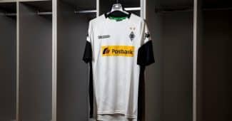 Image de l'article Kappa lance les maillots du Borussia Mönchengladbach pour la saison 2017/2018