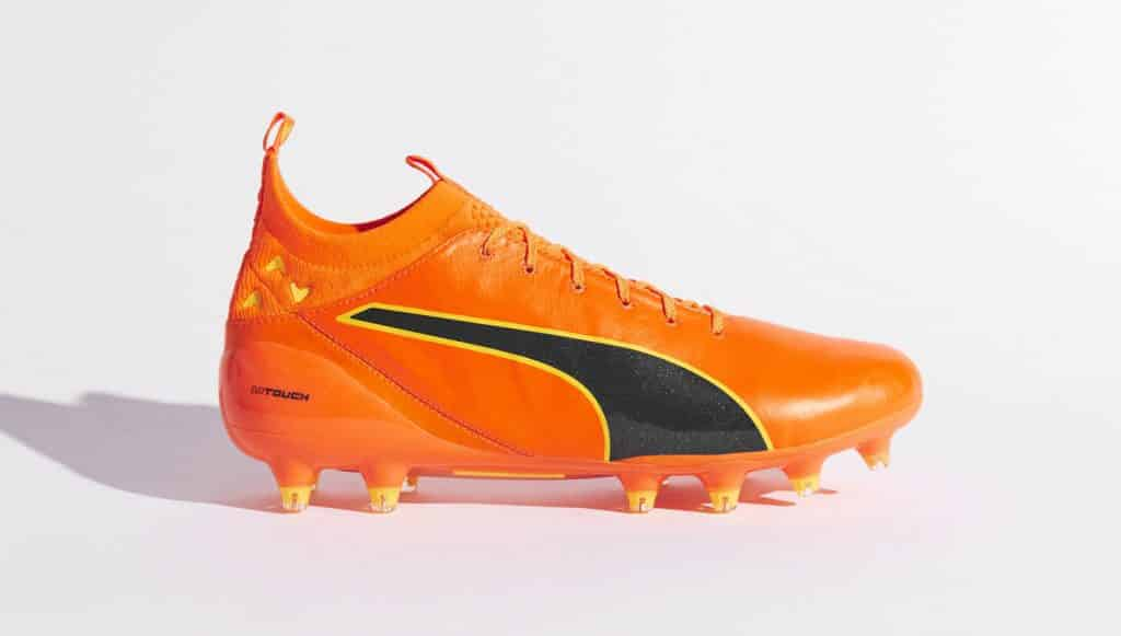 chaussure-football-puma-evotouch-orange-poisson-clown-img4