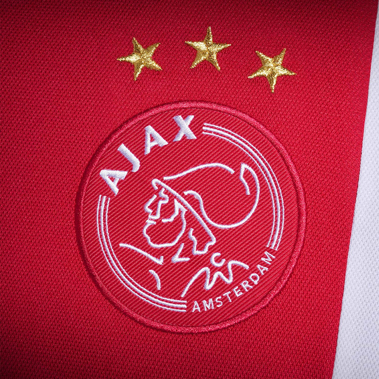 maillot-ajax-amsterdam-domicile-2017-2018-logo