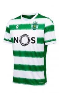 Maillot Domicile du Sporting Portugal