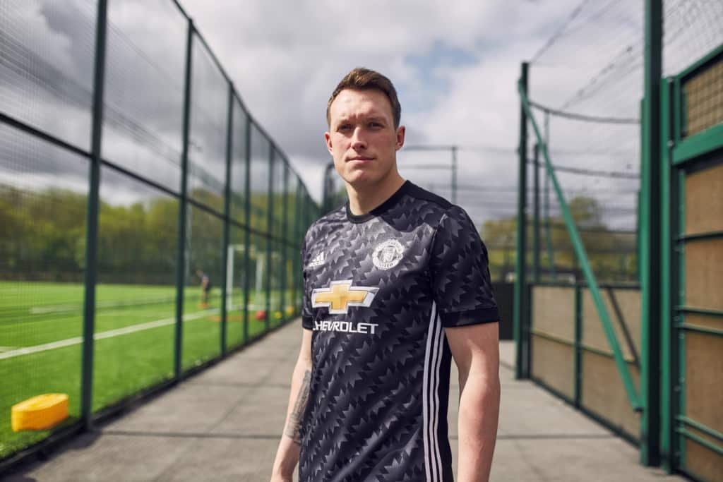 Maillot THIRD Manchester United Phil Jones