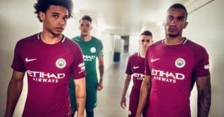 Image de l'article Les maillots de Manchester City pour la saison 2017-2018