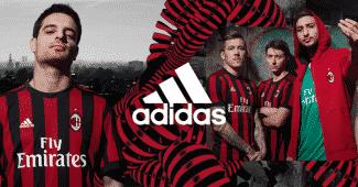 Image de l'article Les maillots de l'AC Milan pour la saison 2017-2018
