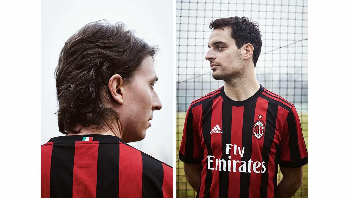 tenue de foot AC Milan nouvelle
