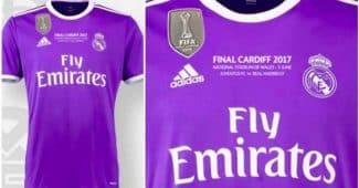 Image de l'article Le Real Madrid portera un maillot unique en finale de Ligue des Champions