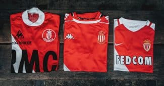 Image de l'article Les maillots de champion de France de l'AS Monaco